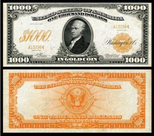 История американской валюты, доллара США