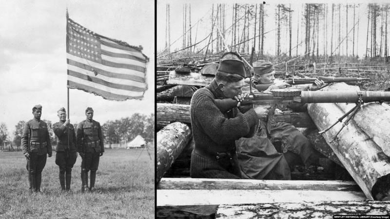 История военных столкновений США против России