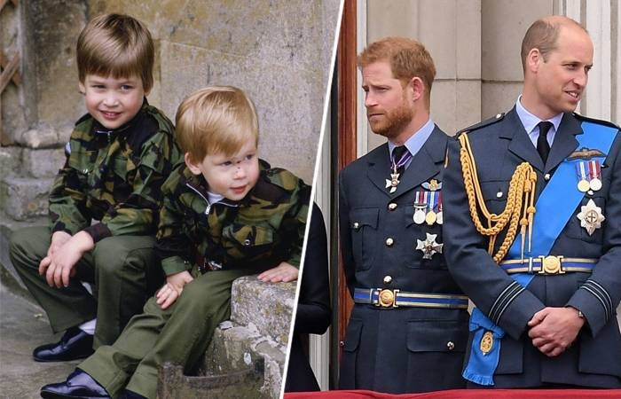 В чем причина вражды между британскими принцами Гарри и Уильямом