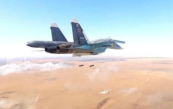 Российская авиация ударила по террористам в Сирии