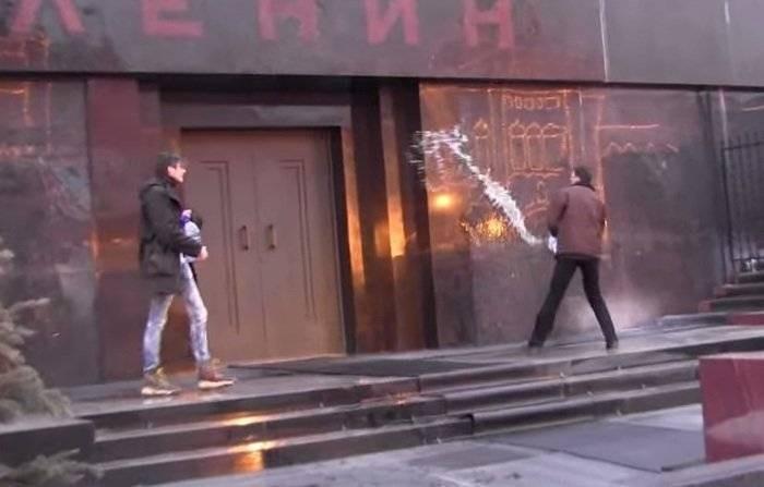 История покушений на тело Владимира Ленина в Мавзолее