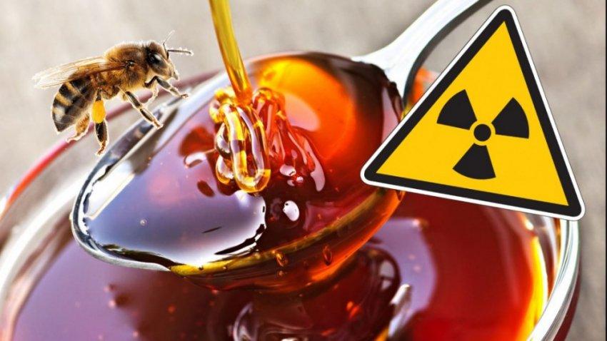 В мёде из США обнаружили радиоактивные вещества