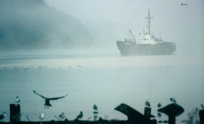 Трагедия в Охотском море: столкнулись японское и российское суда