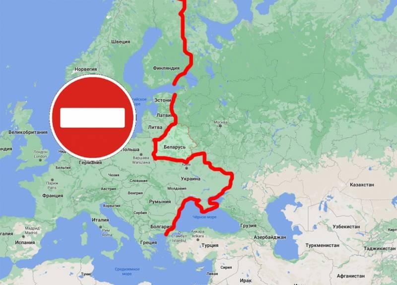 Что стало причиной закрытия неба над территорией Республики Беларусь