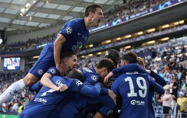 """Футболисты """"Челси"""" стали победителями Лиги чемпионов"""