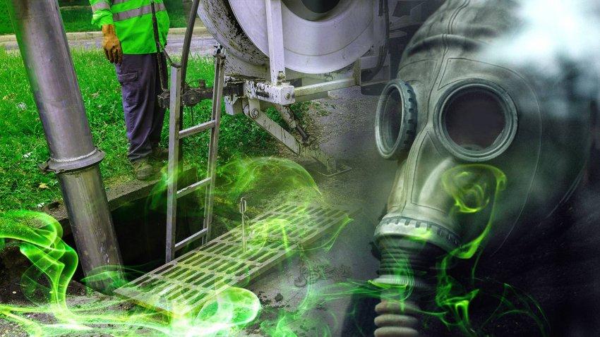 Метан стал причиной гибели людей на очистных работах в коллекторе под Таганрогом