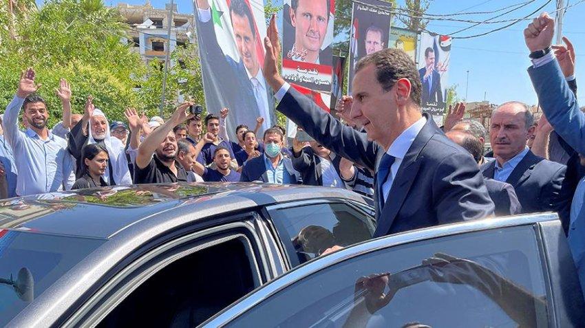 МИД России прокомментировало результаты выборов президента в Сирии