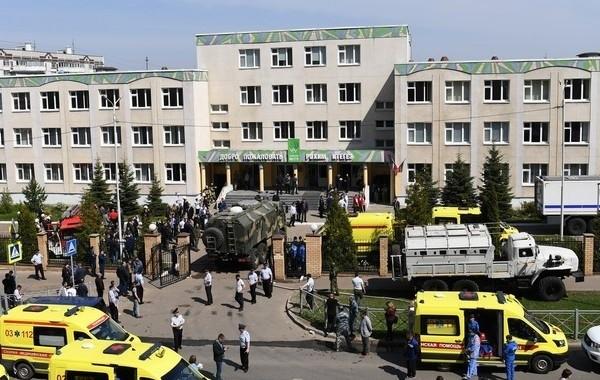 Стало известно о состоянии детей, которые пострадали при стрельбе в казанской школе