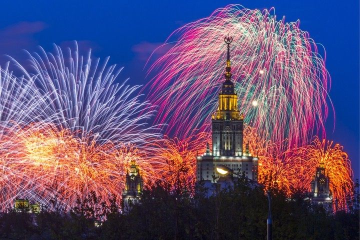 Прямая трансляция салюта в Москве в День России 12 июня 2021 года