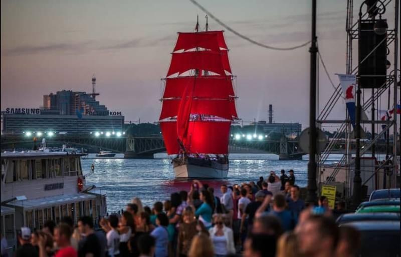 Как посмотреть фестиваль «Алые паруса» бесплатно