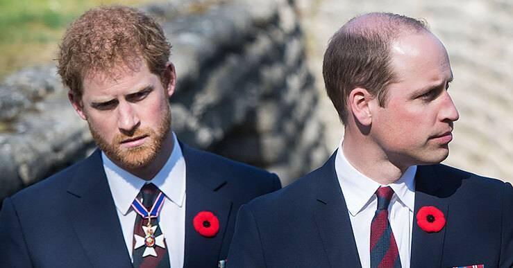 Почему поссорились британские принцы Уильям и Гарри и что им мешает помириться