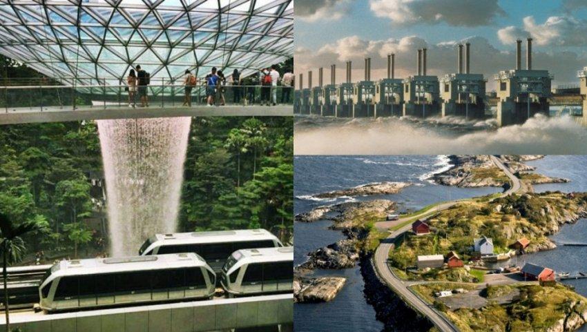 ТОП-7 необычных архитектурных решений
