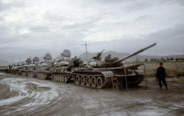 Туркменистан перебросил военную технику к границе с Афганистаном