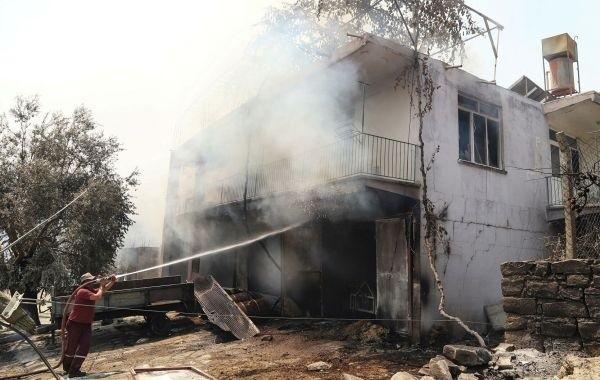 Лесные пожары в Турции распространились на 42 района провинции Анталья