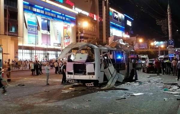 В ФСБ установили причину взрыва автобуса в Воронеже