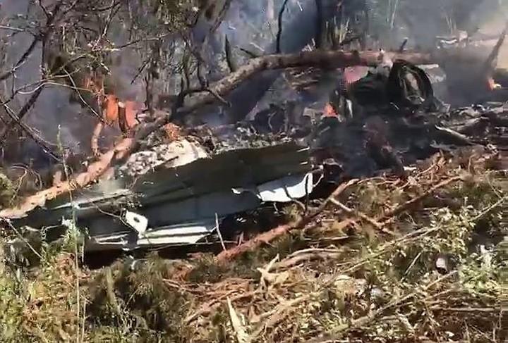 Новый российский Ил-112В разбился в Кубинке