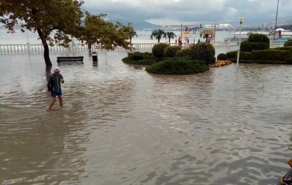 Во временных пунктах размещения в Анапе находятся почти 600 человек