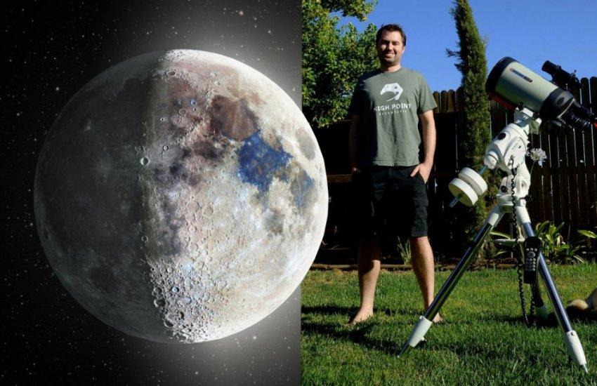 Не выходя в космос: уникальные снимки луны с заднего двора
