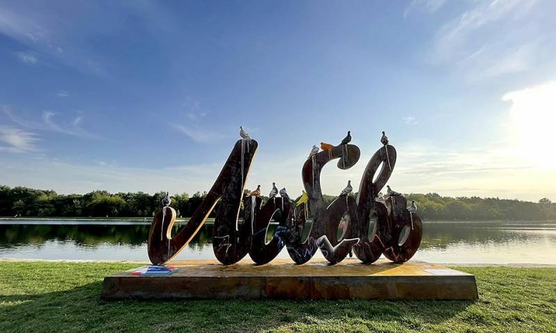 В Москве открылся новый арт-объект «Любовь и голуби»