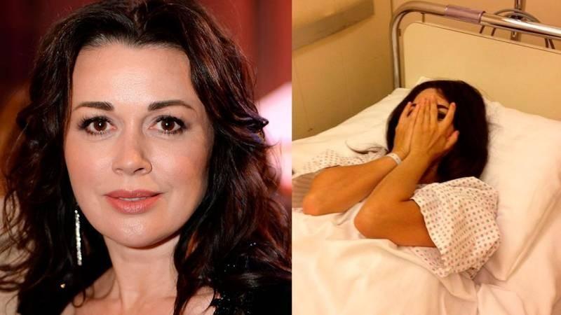 Анастасия Заворотнюк продолжает лечение от онкологии в своем доме в Подмосковье